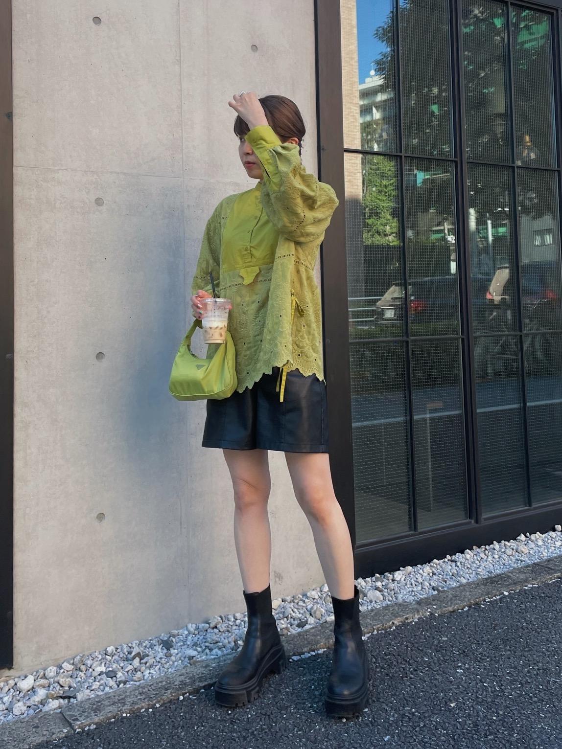 rei_LAYERED LACE DRESS SHIRT